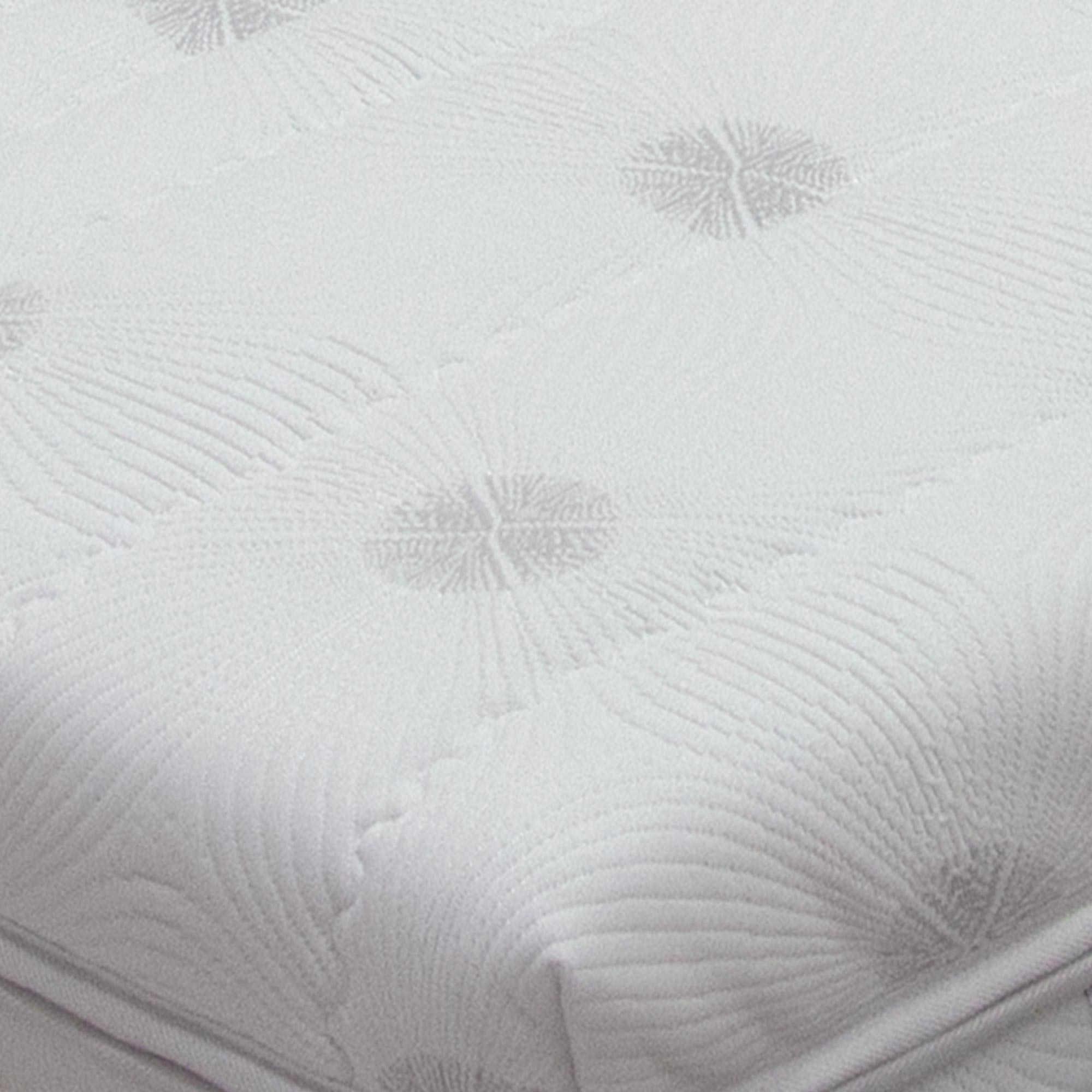 tejido strech de aloe vera en colchon de latex