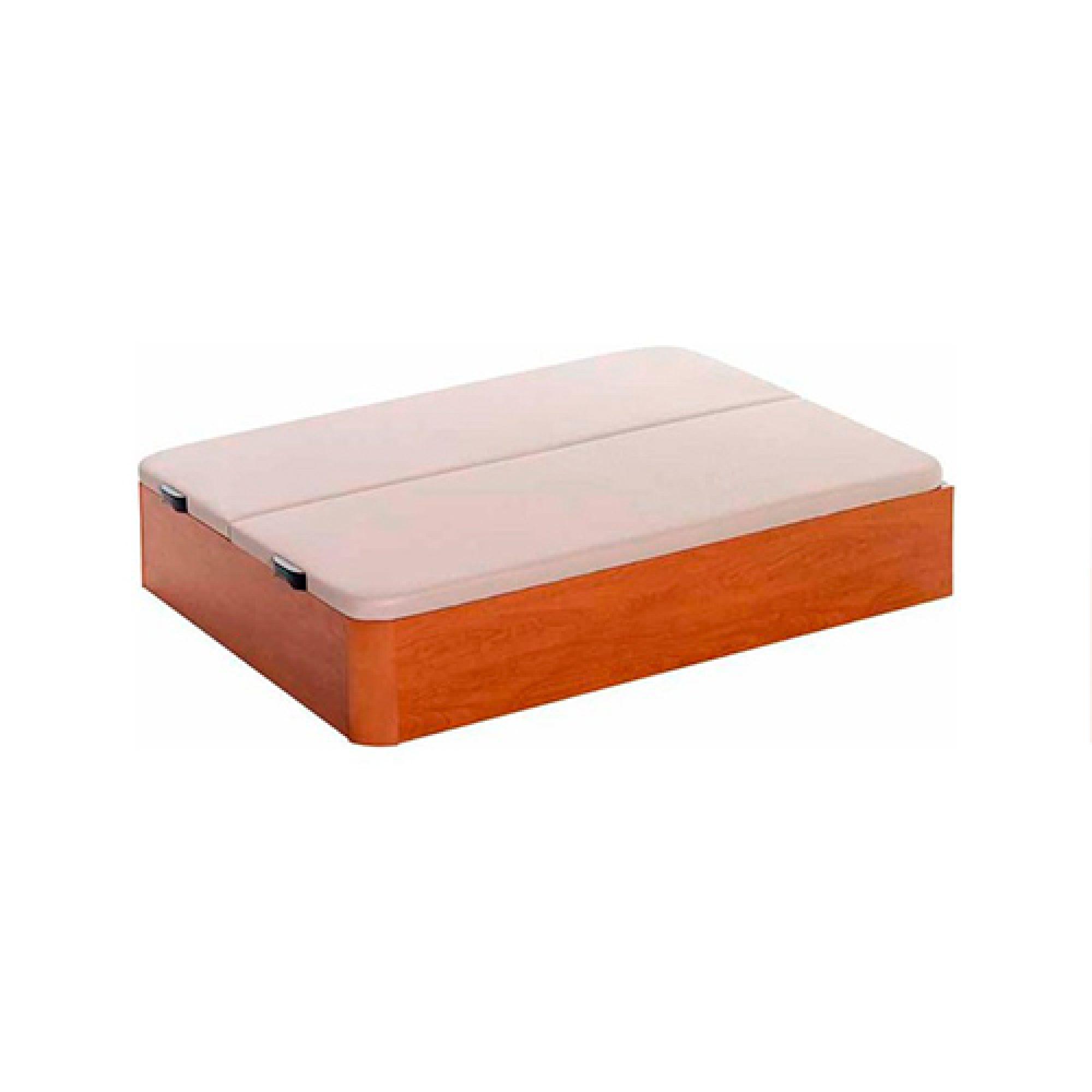 canape de madera con tapa 3d