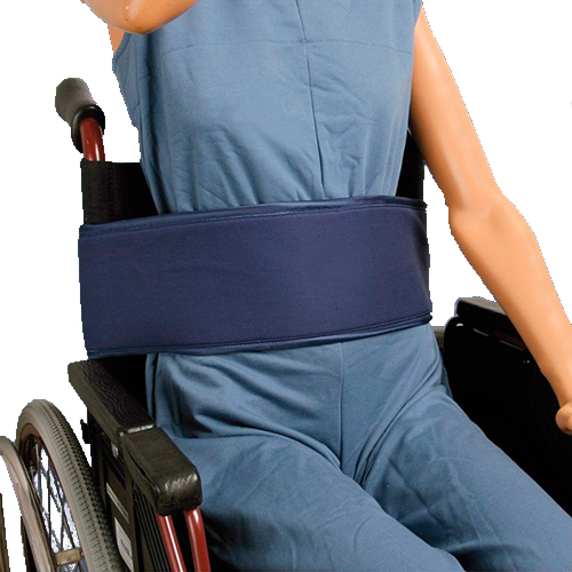 cinturon abdominal para silla de ruedas