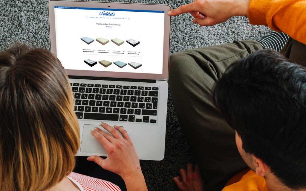 nueva tienda online de colchones en coruna